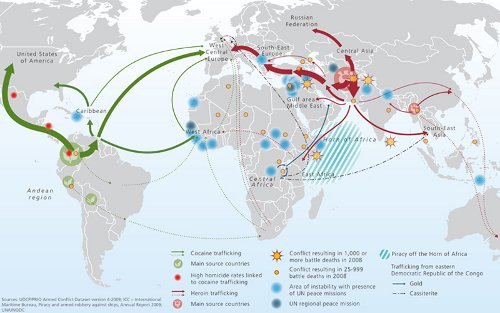 Afghanistan ist das zentrum der weltweiten opium und heroin