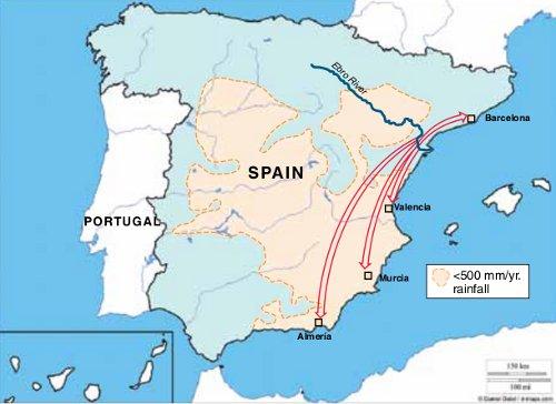 spanien dürre 2017