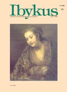 [Ibykus Cover 4/2003]
